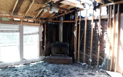 Lightning Strike in Flint Forces Family of 5 to Seek Help from Hand Up Network