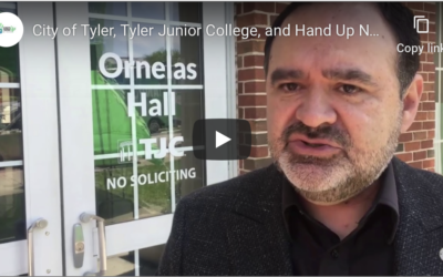City of Tyler, Tyler Junior College, and Hand Up Network partner to help First Responders/Medical Caregivers